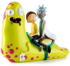 Kidrobot Rick and Morty Slippery Stair Figure