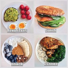 Post-Easter Eats Inspo *Swipe for 5 healthy meal plan ideas! Hope you are havin. Post-Easter Eats Inspo *Swipe for 5 healthy meal plan ideas! Hope you are havin. Healthy Meal Prep, Healthy Breakfast Recipes, Healthy Snacks, Healthy Recipes, Nutritious Meals, Healthy Morning Breakfast, Diet Recipes, Dinner Healthy, Healthy Workout Meals