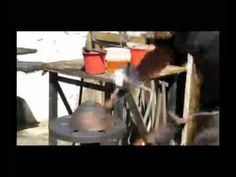 Amagugu.com presents: Bronze Age Art Part 2. See how they create their stunning bronze pieces. Charles Haupt guides us through the Patina process he uses on the bronze bowl. They also show how the Gold-leafing process works Bronze Age, Presents, Create, Gold, Art, Gifts, Art Background, Kunst, Favors
