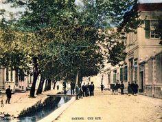İzmir, Alsancak civarında bir sokak. Smryne une rue.