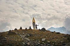 Faire du stand up paddle gonflable à la montagne