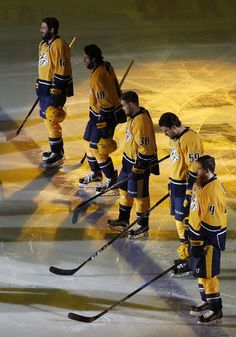 Photo galleries featuring the best action shots from NHL game action. Roman Josi, Predators Hockey, Nhl Games, Nashville, Penguins, Photo Galleries, Photo Wall, Action, Sports