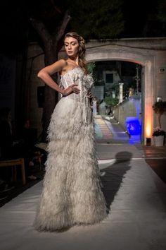 Tratti di Nozze evento, sfilano le creazioni di Maria Carmela Comes, designer di Comes Sposa Wedding.