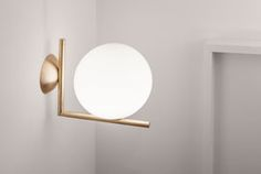 MILAN DESIGN WEEK 2014 - IC LIGHT by Michael Anastassiades for Flos.