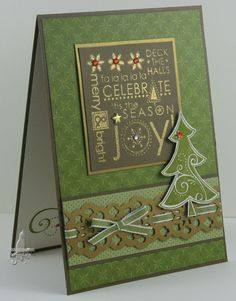 Hello Stampers,  Today's post is for the Freshly Made Sketches  this week.Just a quick card as I was running short of time. I embossed the...