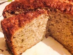 Banana Cake with no added fat (made with Greek yoghurt)