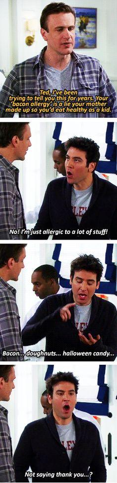 HIMYM Allergies - Imgur