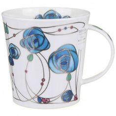 Renfrew - Blue Cairngorm shape Mug
