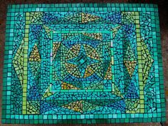 Image result for free mosaic patterns for tables Rectangular