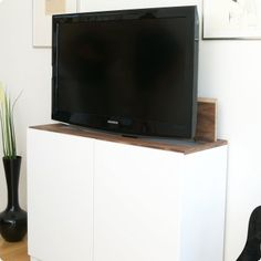 tv lift with ikea besta home pinterest tvs summer house interiors and wardrobe design. Black Bedroom Furniture Sets. Home Design Ideas