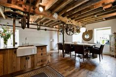 Amazing converted mill