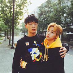 Jin hwan and Bobby Yg Entertainment, Bobby, Ringa Linga, Art Gay, Oppa Gangnam Style, Winner Ikon, Ikon Member, Warner Music, Kim Jinhwan