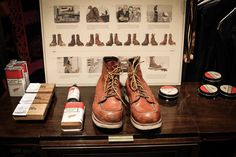 Worn in Red Wing Moc Toe at Newseum by Crämer&Co.