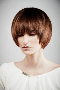 19 Trendsetting Short Brown Hair Colors for 2019 - Style My Hairs Brown Hair Cuts, Brown Straight Hair, Short Brown Hair, Medium Short Hair, Medium Hair Cuts, Short Hair Cuts, Medium Hair Styles, Curly Hair Styles, Medium Brown