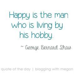 My hobby quotation