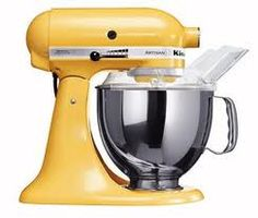 Yellow Kitchen Aid