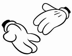 ミッキーマウス 手 イラスト - Google 検索