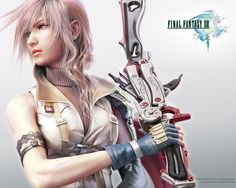 List of Final Fantasy Games Final Fantasy Xv, Lightning Final Fantasy, Final Fantasy Female Characters, Fantasy News, Fantasy Series, Fantasy Art, Illustrator, Fantasy Pictures, Video Game Characters