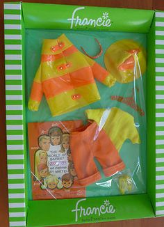 """Vintage Francie """"Clam Diggers"""" outfit MIB"""