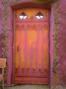 Door in Mexican Village