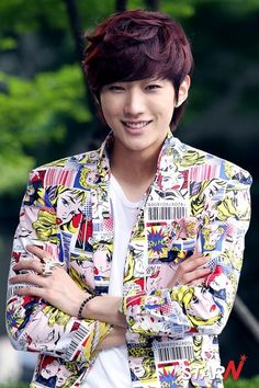 Jinyoung, from B1A4