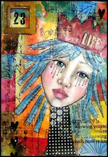Ideas For Collage Art Inspiration Faces Mixed Media Collage, Collage Art, Collages, Art Journal Pages, Art Journals, Magazine Collage, Decoupage, Easy Art Projects, Art Journal Techniques