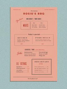 Rosie's BBQ — Kendra Lebo Design