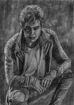 Ryan Potter as Gar Logan/Beast Boy in the 'Titans' TV series. Freehand sketch using HB pencil and eraser. Comic Book Heroes, Comic Books, Titans Tv Series, Ryan Potter, Beast Boy, Logan, Pencil, Sketches, Comics