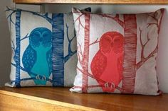 Owl Cushions — Maxwell's Daily Find 11.13.12