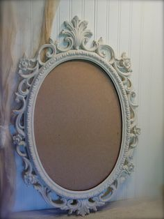 Ornate Large Oval Mirror  Vintage  Hand by EdenCoveTreasures, $75.00
