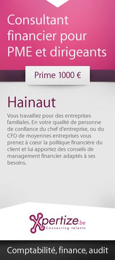 Consultant financier pour PME et dirigeants Senior Management, Risk Management, Real Estate Jobs, Finance Jobs, Accounting Manager, Business Analyst, Business Intelligence, Good Energy, New Opportunities