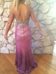 Sweetheart ombre prom dress- size 4 $80.00 at www.closetrent.com