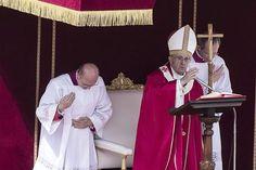 Homilía del Papa Francisco, Misa del Domingo de Ramos, 13 abril 2014