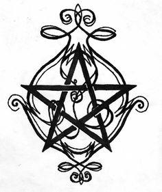 Výsledek obrázku pro pentagram tattoo supernatural