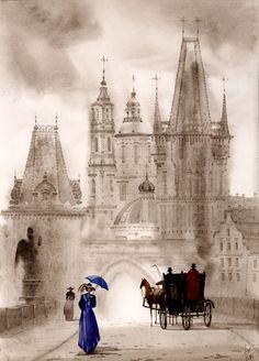 """Cathedral_Walk"" - by SVETLANA GADJIEVA"