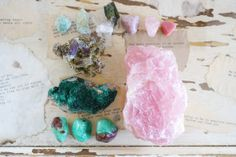 Heart Chakra Stones: Get Out of Your Head + Open Your Heart