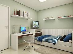 Dicas de decoração para quartos pequenosQuase uma Estante | Quase uma Estante