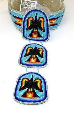 Nice Handmade Cut Beaded Waterbird Design Native American Indian Princess Crown | eBay