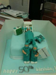 nurse doctor cake