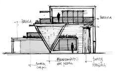 JKS Arquitetura e Urbanismo: Croquis Arquitetônicos