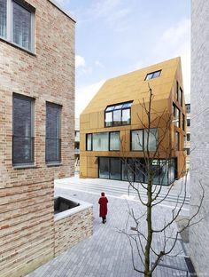 Kiel Steel House 01 A New House Development Located in on the German Baltic Coast