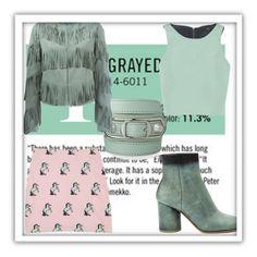 """Grayed Jade"" by fashionkingny ❤ liked on Polyvore featuring Garance Doré, Balenciaga, Drome, TIBI and Maison Margiela"