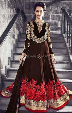 Beautiful Anarkali Gonws With full Sleeves Best Model Of 2016  #Anarkalis #Gowns #AnarkaliGown #AnarkaliGowns #AnarkaliSuits #AnarkaliSuit