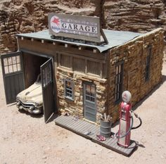 Frank's Mobilgas Garage