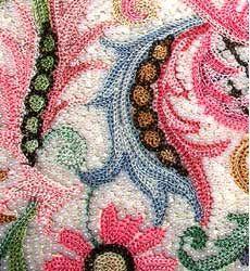 Vintage Tambour Embroidered Purse by Josef | Vintage Clothing | Kakkoii Mono