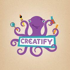 creatify: kids  summer art & craft classes  http://creatifyaustin.com  logo designed by Chase Maclaskey    (Thanks, LiveMom, for sharing it!)