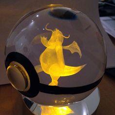 Crystal Engraved Poké Ball