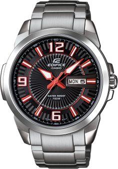 Casio Edifice serisinin en göz alıcı saatlerinden bir tanesi bu modeldir. Casio Edifice, Michael Kors Watch, Omega Watch, Boutique, Watches, Accessories, Wristwatches, Clocks, Boutiques