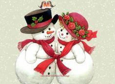sneeuwpopjes ''in love''