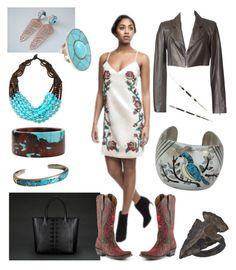 """Birdie"" by creation-gallery ❤ liked on Polyvore featuring Ralph Lauren, Katherine Jetter, Viktoria Hayman, Ayaka Nishi, Allison Daniel, women's clothing, women's fashion, women, female and woman"